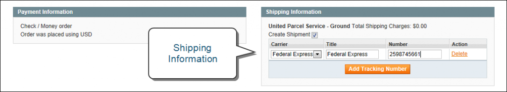 invoice-shipping-information