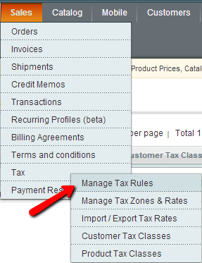 Setup Tax Exemption in Magento: Tax Rules