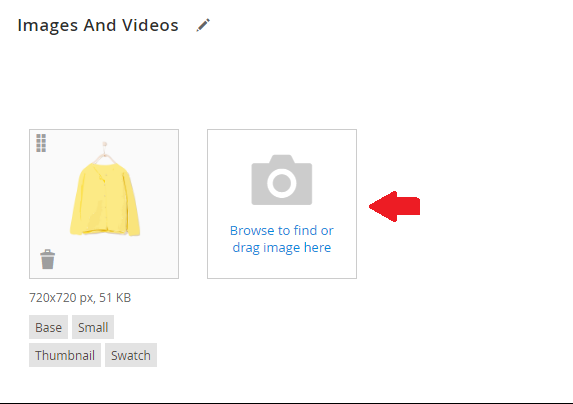 Simple Product in Magento 2 - Images and Videos